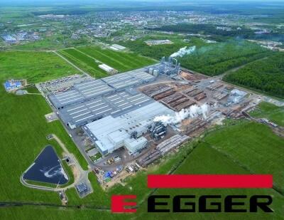 Завод Egger в Австрии