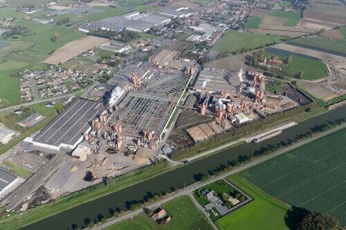 завод ламината Balterio в Бельгии