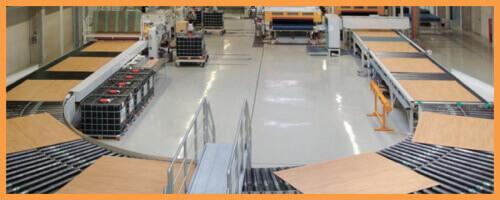 Стандарты качества на заводе Balterio в Бельгии